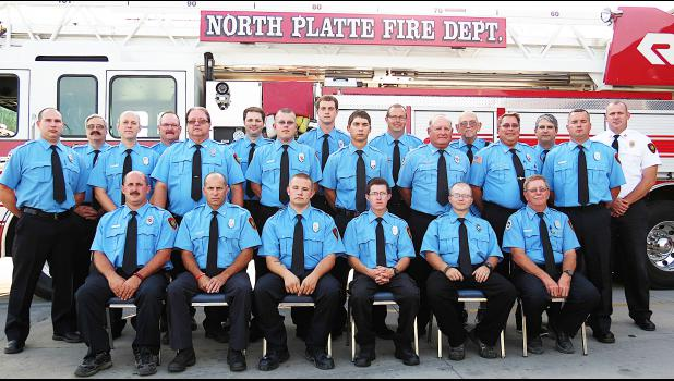 Members of the North Platte Fire Department welcome everyone to the annual conference Oct. 16-18.