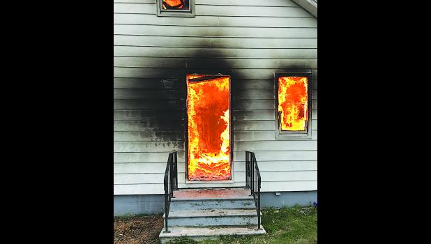 Odebolt Fire Department conducted a training house burn on April 28.